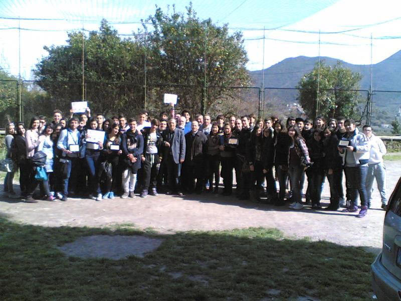 Foto di gruppo alla fine della manifestazione