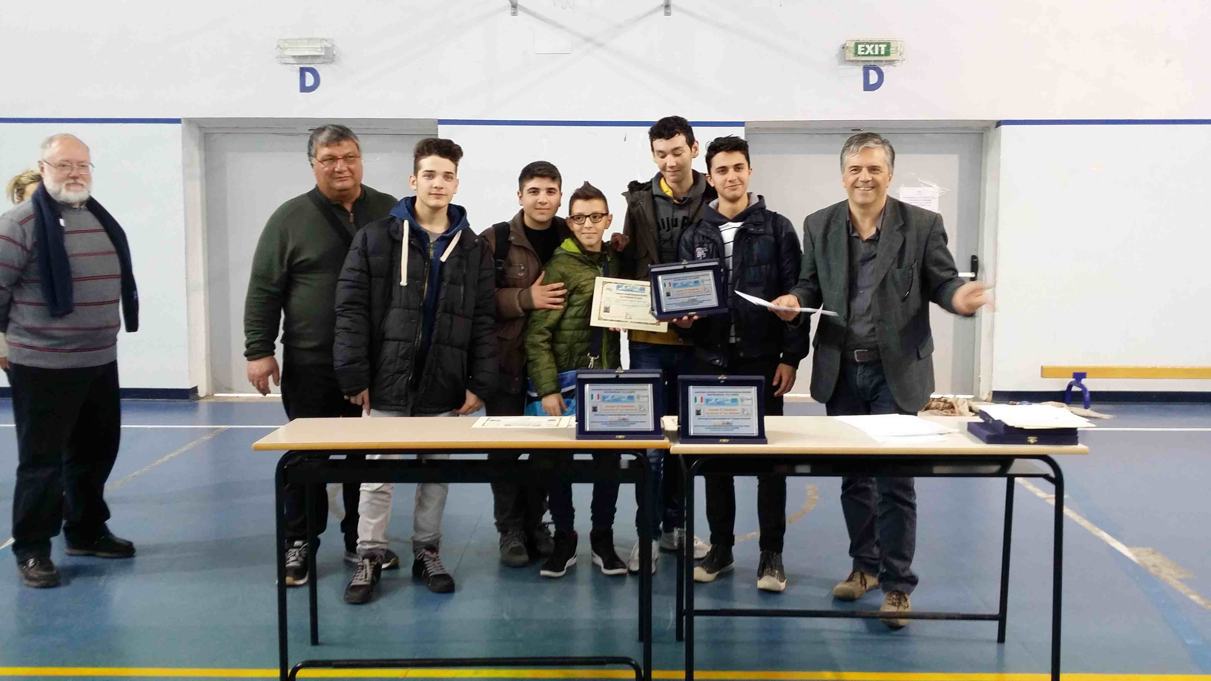 Liceo Scientifico N. Cortese Categoria Sec. II° Allievi Maschile