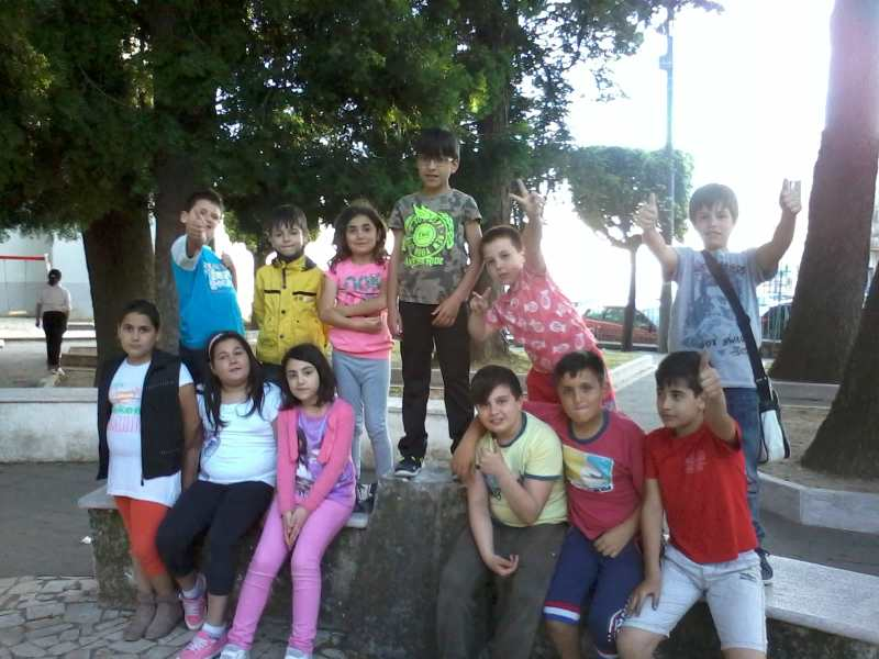 Alcuni dei ragazzi partecipanti al torneo